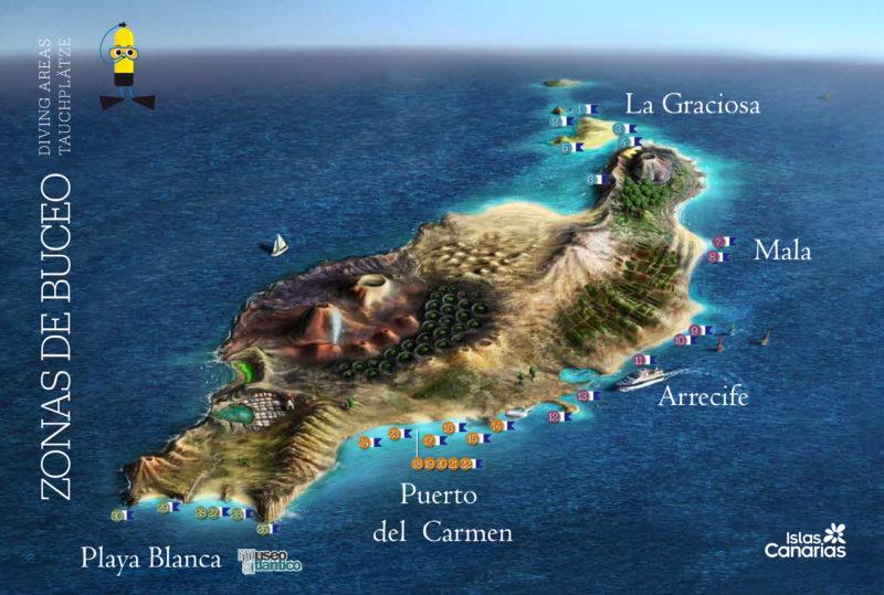 Dives in Lanzarote