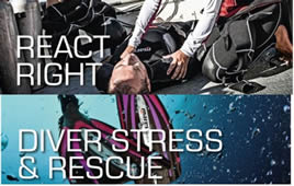 Combi pack - Diver Stress & Rescue + React Right