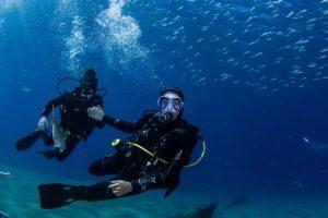 Bautizo de 2 inmersiones en Lanzarote