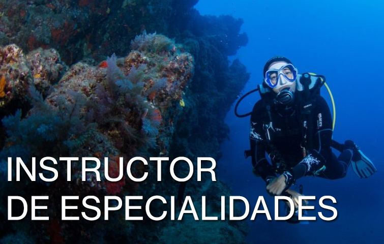 Instructor Especialidad Buceo Lanzarote