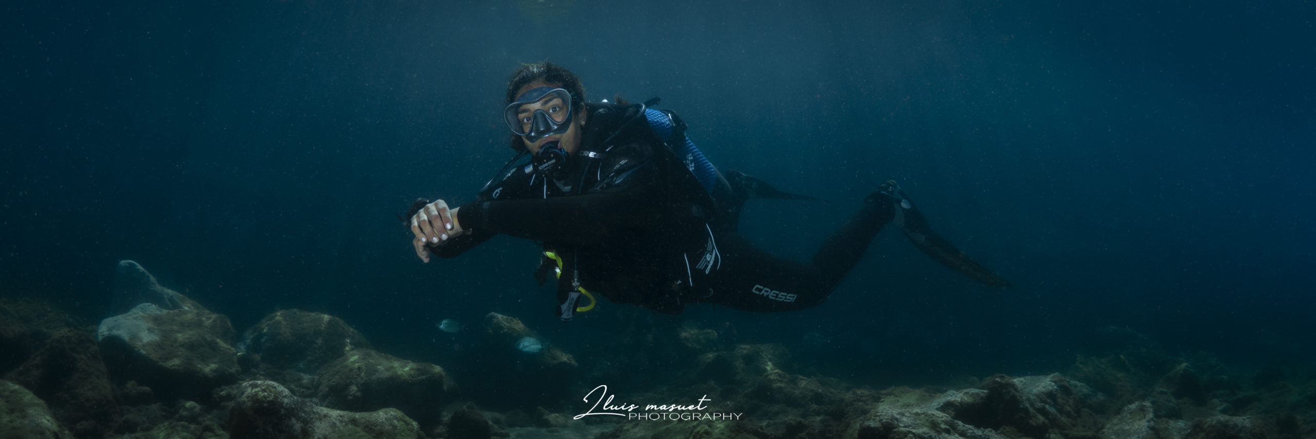 Always with the best dive guides