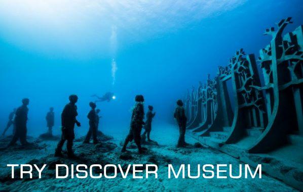 Bautizo de buceo que incluye el museo atlántico